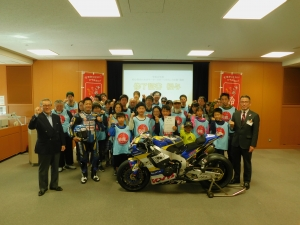 """About postponement of 2020 """"experience, course that motor sports are interesting for beginner"""""""