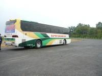 シャトルバス試験走行
